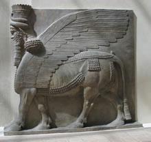 El arte mesopotamico escultura
