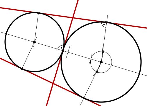 Rectas tangentes a dos circunferencias wikillerato for Que es exterior y interior